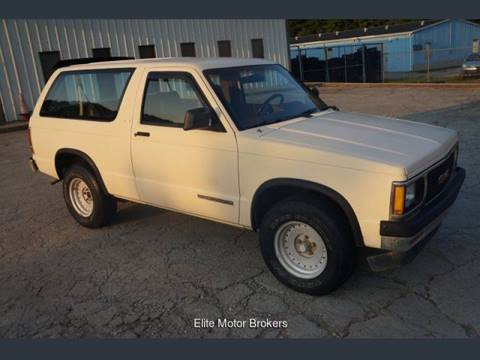 1991 GMC S-15 Jimmy for sale at Elite Motor Brokers in Austell GA
