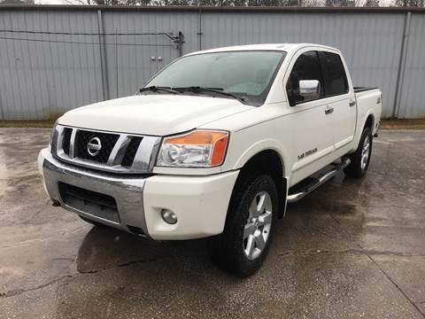 2010 Nissan Titan for sale at Elite Motor Brokers in Austell GA