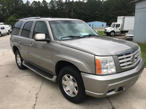 2002 Cadillac Escalade for sale at Elite Motor Brokers in Austell GA