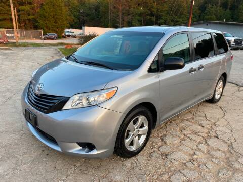 2016 Toyota Sienna for sale at Elite Motor Brokers in Austell GA