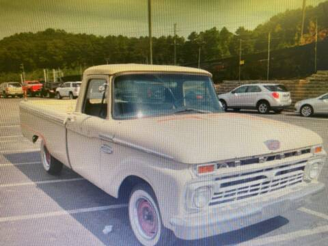 1966 Ford E-100 for sale at Elite Motor Brokers in Austell GA