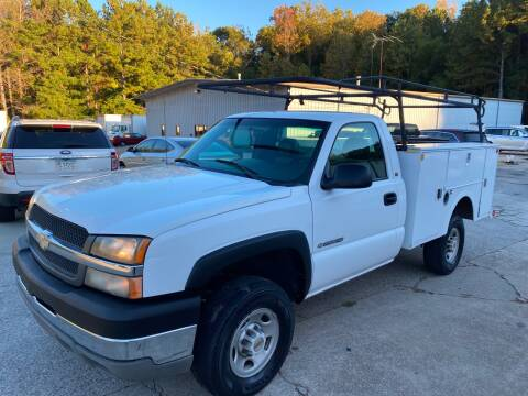 2003 Chevrolet Silverado 2500HD for sale at Elite Motor Brokers in Austell GA