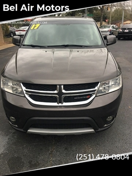 2017 Dodge Journey SXT for sale at Bel Air Motors in Mobile AL