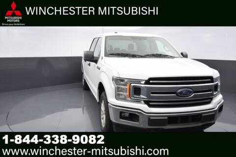 2018 Ford F-150 for sale at Winchester Mitsubishi in Winchester VA
