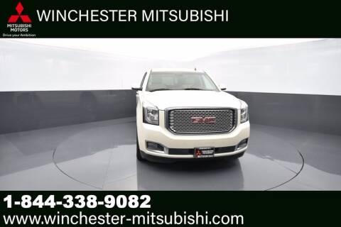 2015 GMC Yukon for sale at Winchester Mitsubishi in Winchester VA
