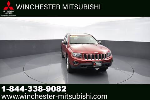 2014 Jeep Compass for sale at Winchester Mitsubishi in Winchester VA