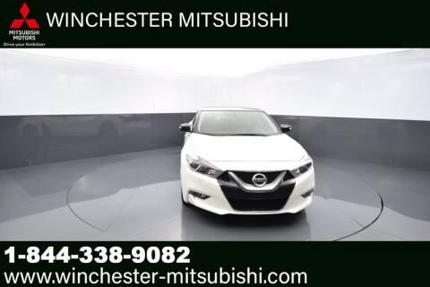 2017 Nissan Maxima for sale at Winchester Mitsubishi in Winchester VA