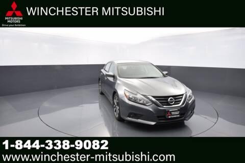 2017 Nissan Altima for sale at Winchester Mitsubishi in Winchester VA