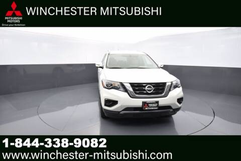 2017 Nissan Pathfinder for sale at Winchester Mitsubishi in Winchester VA