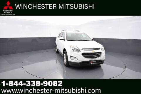 2017 Chevrolet Equinox for sale at Winchester Mitsubishi in Winchester VA