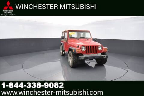 1999 Jeep Wrangler for sale at Winchester Mitsubishi in Winchester VA