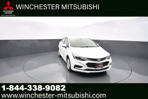 2017 Chevrolet Cruze for sale at Winchester Mitsubishi in Winchester VA