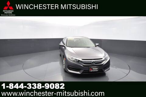 2016 Honda Civic for sale at Winchester Mitsubishi in Winchester VA