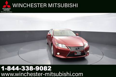 2013 Lexus ES 350 for sale at Winchester Mitsubishi in Winchester VA