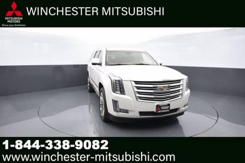 2016 Cadillac Escalade ESV for sale at Winchester Mitsubishi in Winchester VA
