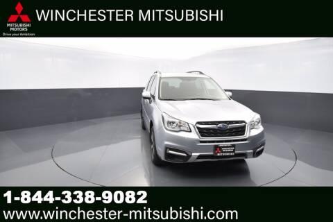 2018 Subaru Forester for sale at Winchester Mitsubishi in Winchester VA