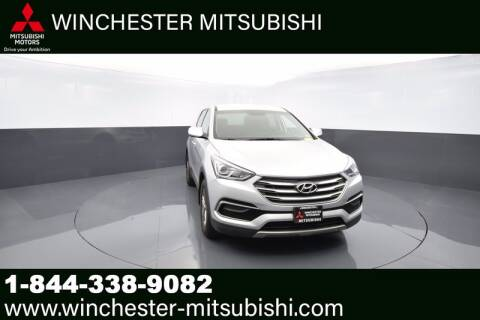 2017 Hyundai Santa Fe Sport for sale at Winchester Mitsubishi in Winchester VA
