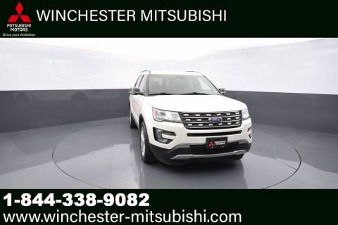2017 Ford Explorer for sale at Winchester Mitsubishi in Winchester VA