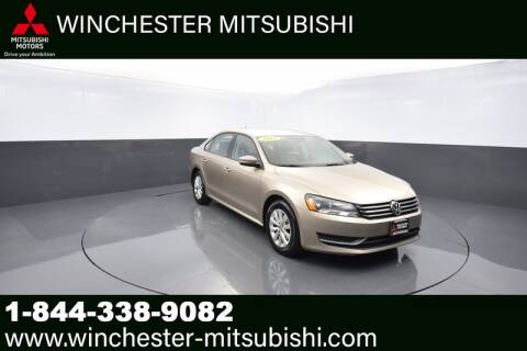2015 Volkswagen Passat for sale at Winchester Mitsubishi in Winchester VA