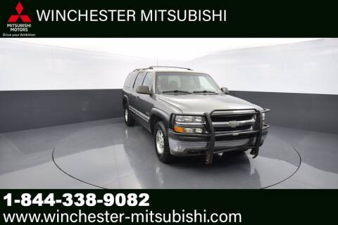 2000 Chevrolet Suburban for sale at Winchester Mitsubishi in Winchester VA