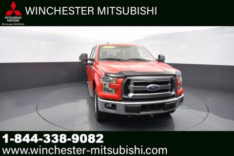 2017 Ford F-150 for sale at Winchester Mitsubishi in Winchester VA
