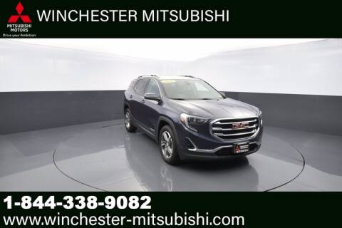 2018 GMC Terrain for sale at Winchester Mitsubishi in Winchester VA