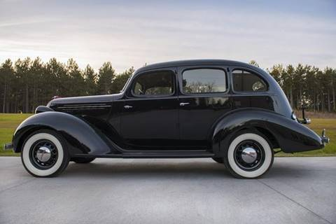 1936 Hudson Series 61 Deluxe for sale at Professional Motor Sales in South Boardman MI