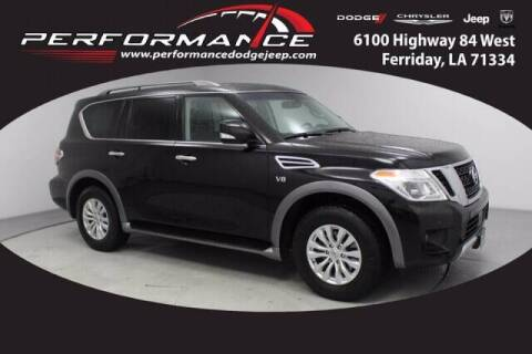 2017 Nissan Armada for sale at Auto Group South - Performance Dodge Chrysler Jeep in Ferriday LA