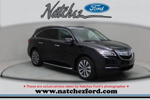 2016 Acura MDX for sale at Auto Group South - Natchez Ford Lincoln in Natchez MS
