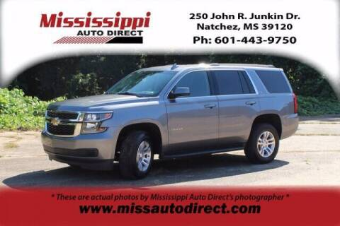 2020 Chevrolet Tahoe for sale at Auto Group South - Mississippi Auto Direct in Natchez MS