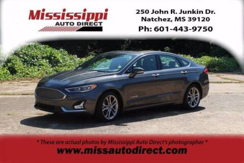 2019 Ford Fusion Hybrid for sale at Auto Group South - Mississippi Auto Direct in Natchez MS