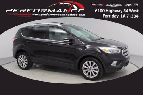 2017 Ford Escape for sale at Auto Group South - Performance Dodge Chrysler Jeep in Ferriday LA