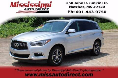 2019 Infiniti QX60 for sale at Auto Group South - Mississippi Auto Direct in Natchez MS