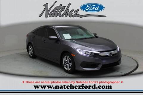 2018 Honda Civic for sale at Auto Group South - Natchez Ford Lincoln in Natchez MS