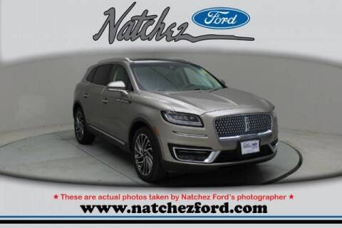 2019 Lincoln Nautilus for sale at Auto Group South - Natchez Ford Lincoln in Natchez MS