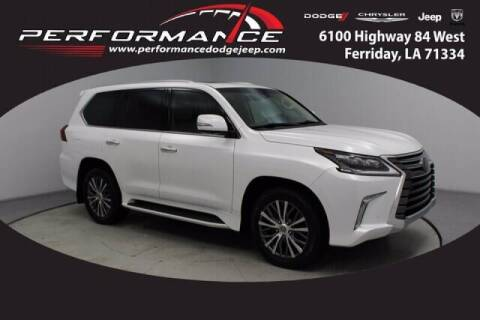 2018 Lexus LX 570 for sale at Auto Group South - Performance Dodge Chrysler Jeep in Ferriday LA