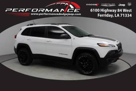 2015 Jeep Cherokee for sale at Auto Group South - Performance Dodge Chrysler Jeep in Ferriday LA