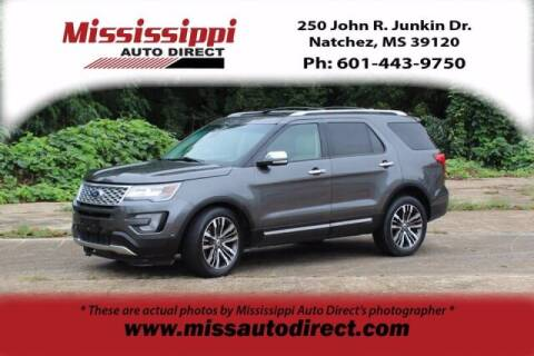 2016 Ford Explorer for sale at Auto Group South - Mississippi Auto Direct in Natchez MS