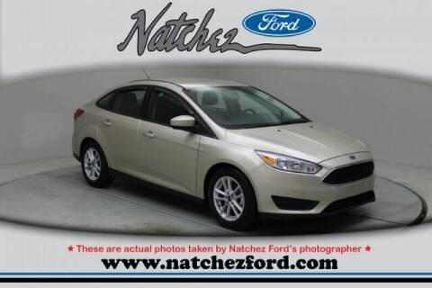 2018 Ford Focus for sale at Auto Group South - Natchez Ford Lincoln in Natchez MS