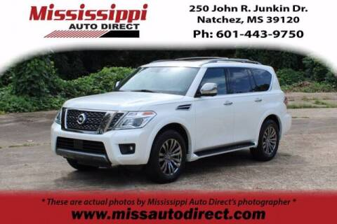2019 Nissan Armada for sale at Auto Group South - Mississippi Auto Direct in Natchez MS