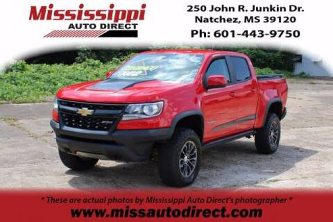 2017 Chevrolet Colorado for sale at Auto Group South - Mississippi Auto Direct in Natchez MS