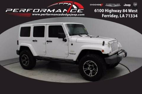 2012 Jeep Wrangler Unlimited for sale at Auto Group South - Performance Dodge Chrysler Jeep in Ferriday LA