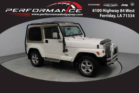 1999 Jeep Wrangler for sale at Auto Group South - Performance Dodge Chrysler Jeep in Ferriday LA