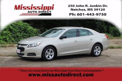 2015 Chevrolet Malibu for sale at Auto Group South - Mississippi Auto Direct in Natchez MS