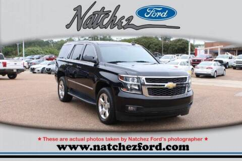 2016 Chevrolet Tahoe for sale at Auto Group South - Natchez Ford Lincoln in Natchez MS