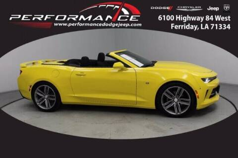 2016 Chevrolet Camaro for sale at Auto Group South - Performance Dodge Chrysler Jeep in Ferriday LA