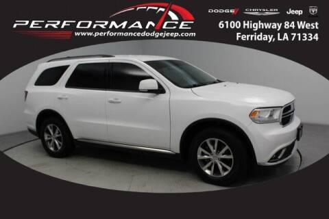 2016 Dodge Durango for sale at Auto Group South - Performance Dodge Chrysler Jeep in Ferriday LA