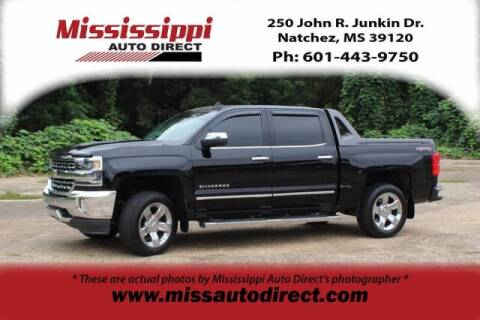 2017 Chevrolet Silverado 1500 for sale at Auto Group South - Mississippi Auto Direct in Natchez MS