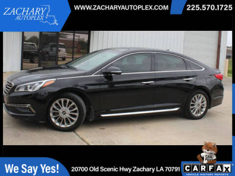 2015 Hyundai Sonata for sale at Auto Group South in Natchez MS