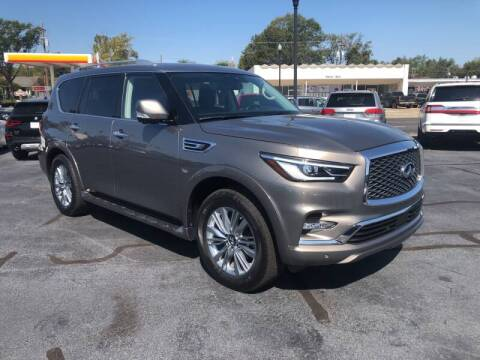2019 Infiniti QX80 for sale at Auto Group South - Idom Auto Sales in Monroe LA